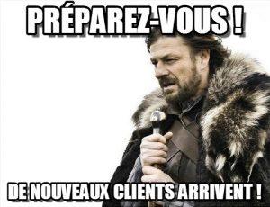 De nouveaux clients ? Oui, mais des clients qui payent !