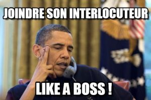 Barrage secrétaire : Joindre son interlocuteur like a boss !