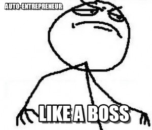 Auto-entrepreneur ? Like a boss !