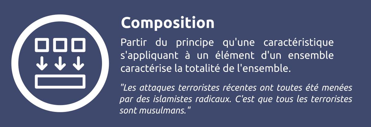 Sophisme - Composition